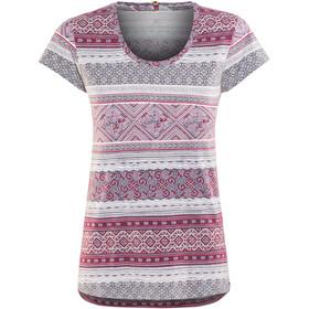 Sherpa Kira t-shirt Dames violet